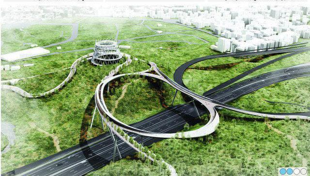 طرح های پل باغ ائل گلی تعیین شد