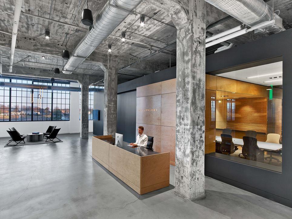 طراحی دفتر کار کارخانه