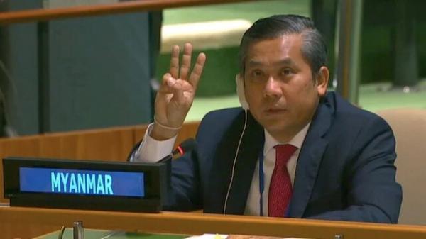 برکناری سفیر میانمار در سازمان ملل خبرنگاران